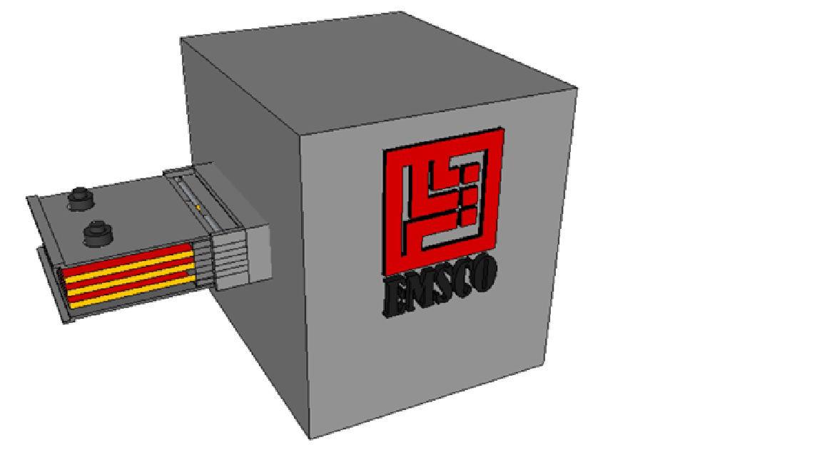 Picture of General Electric FVA/FVK Series DASKEBN134A End Box  R&G