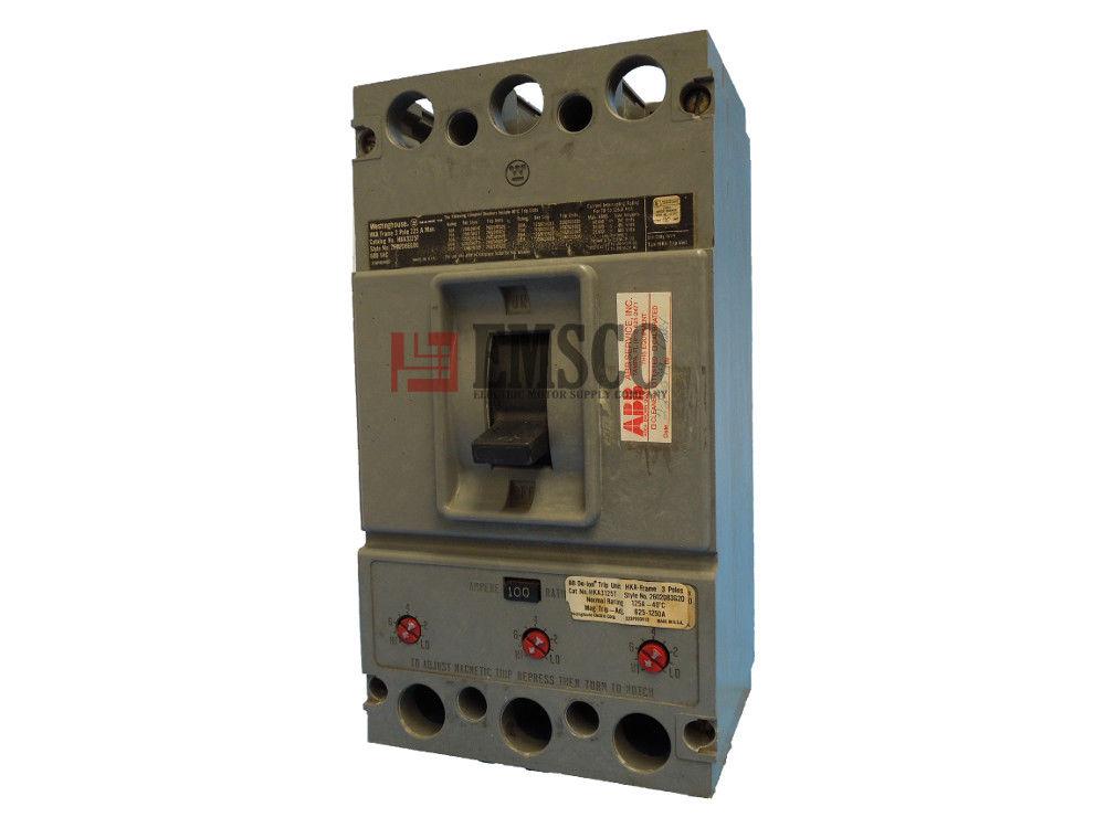 Picture of HKA3100 Westinghouse Circuit Breaker