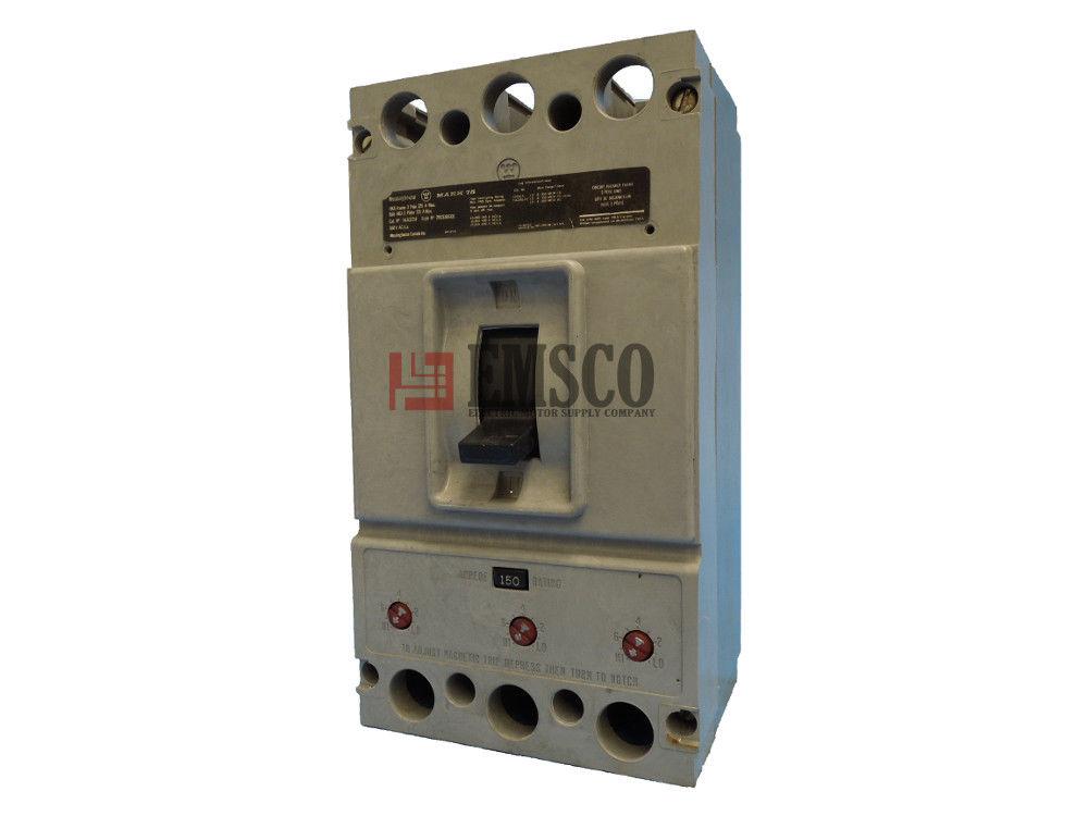Picture of HKA3150 Westinghouse Circuit Breaker