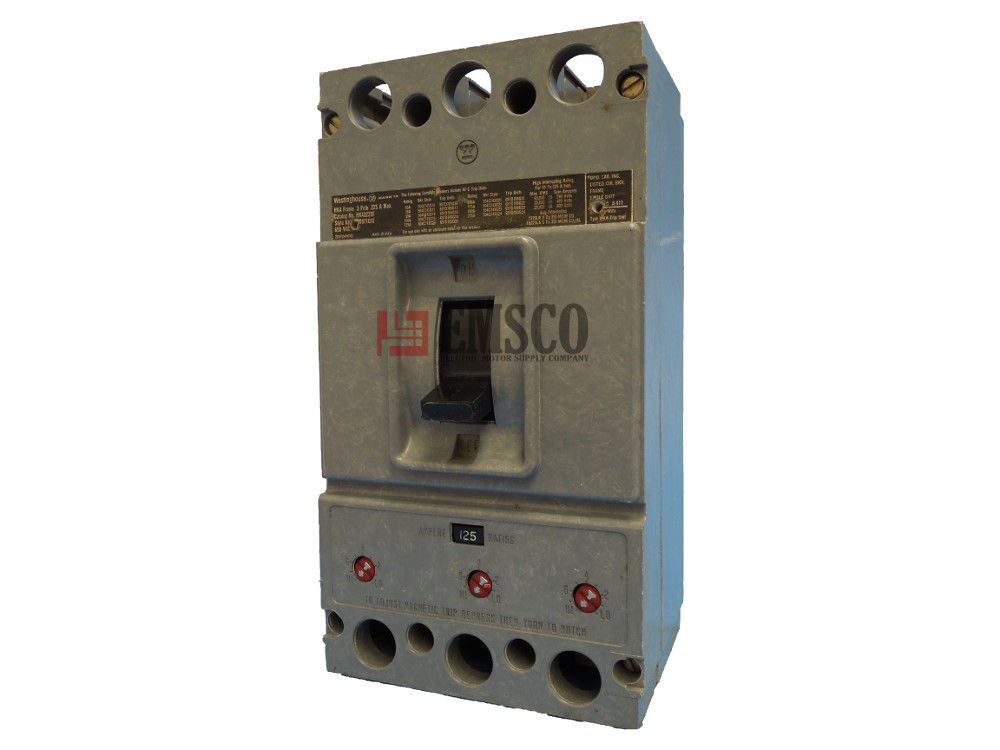 Picture of HKA3125 Westinghouse Circuit Breaker