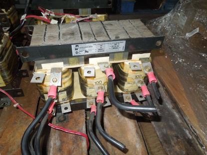 Picture of Hammond 3009C1. 100HP 480V 3-Coil Auto Transformer