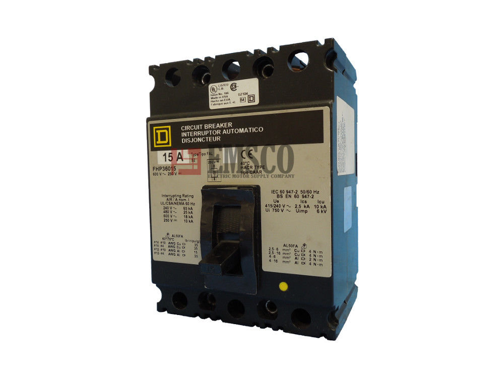 Picture of FHP36015 Square D Circuit Breaker