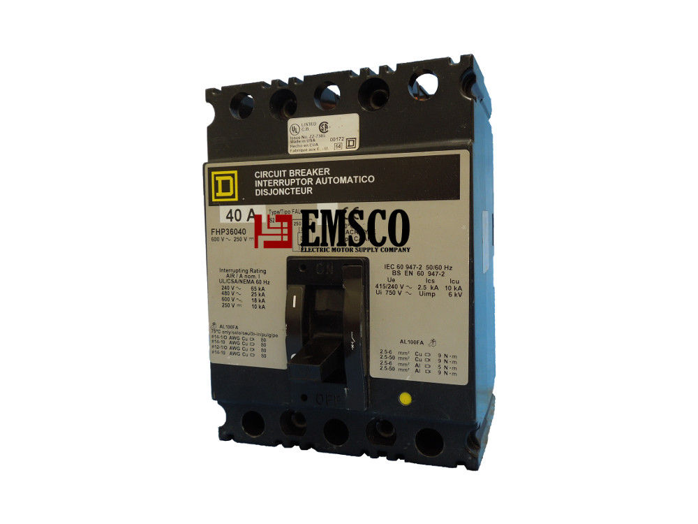 Picture of FHP36040 Square D Circuit Breaker