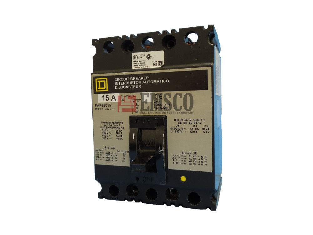Picture of FAP36015 Square D Circuit Breaker