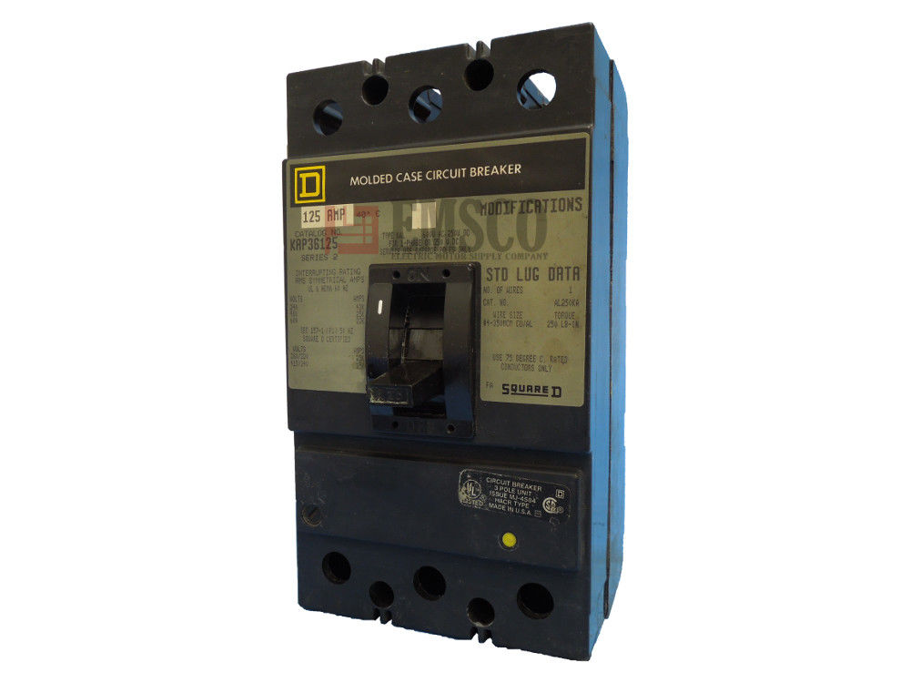 Picture of KAP36125 Square D Circuit Breaker