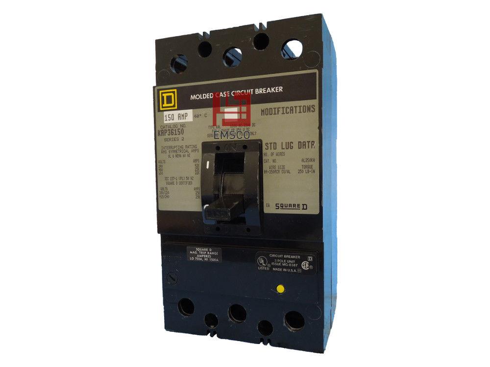 Picture of KAP36150 Square D Circuit Breaker