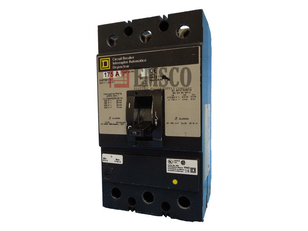 Picture of KAP36175 Square D Circuit Breaker