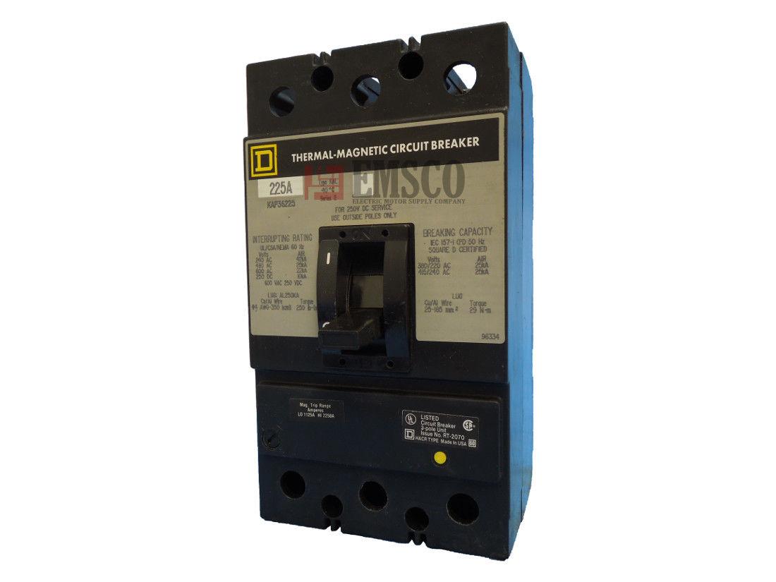 Picture of KAP36225 Square D Circuit Breaker