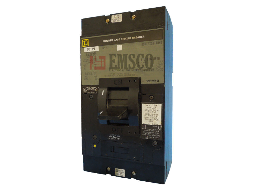 Picture of LAL36275 Square D Circuit Breaker