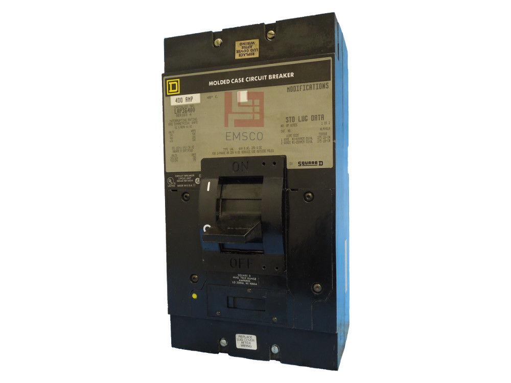 Picture of LAP36400 Square D Circuit Breaker