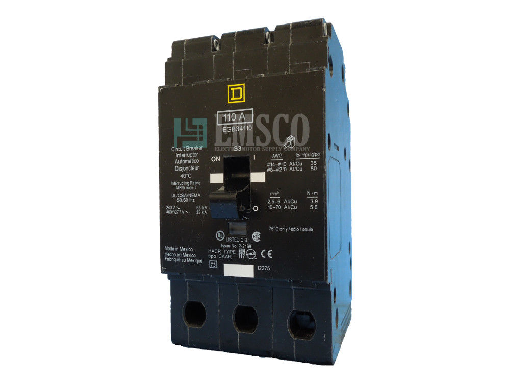 Picture of EGB34110 Square D Circuit Breaker
