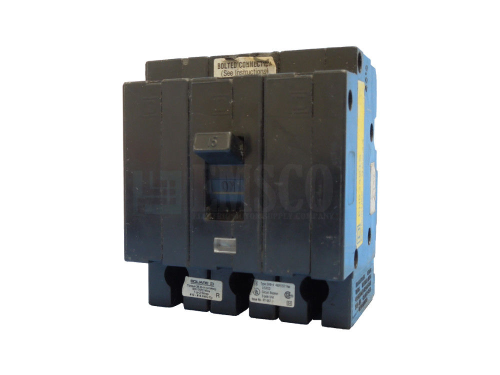 Picture of EHB34015 Square D Circuit Breaker