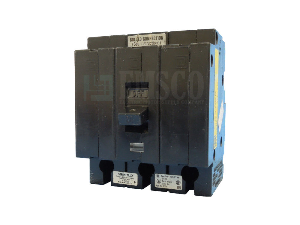 Picture of EHB34020 Square D Circuit Breaker