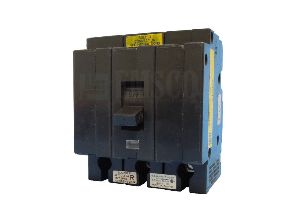 Picture of EHB34040 Square D Circuit Breaker