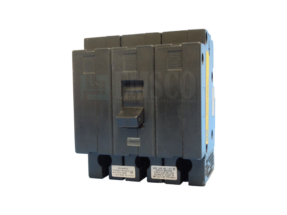 Picture of EH34020 Square D Circuit Breaker