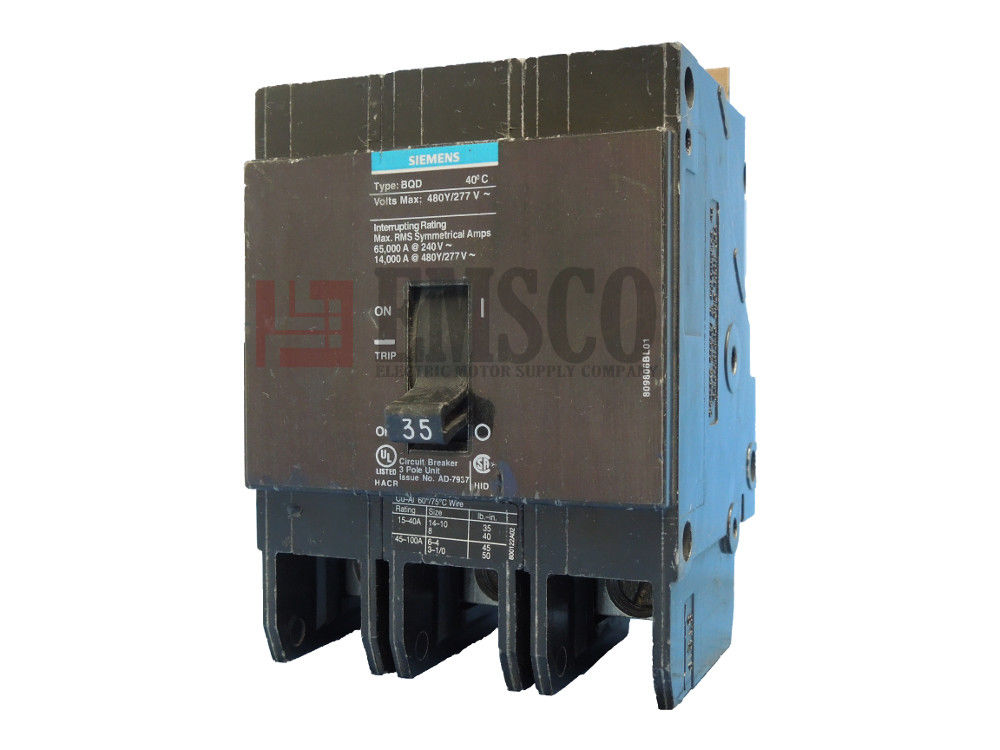 Picture of BQD335 Siemens Circuit Breaker