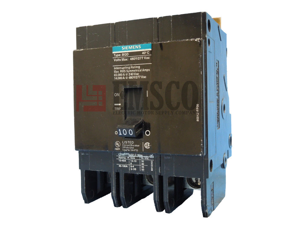 Picture of BQD3100 Siemens Circuit Breaker