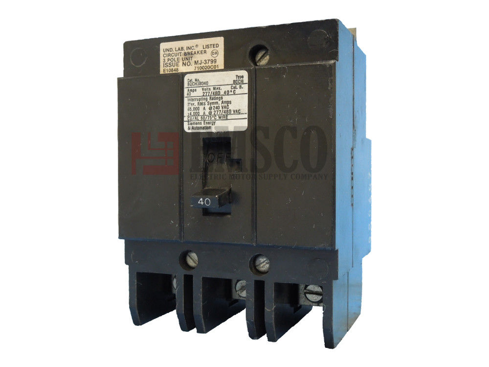 Picture of BQCH3B040 Siemens Circuit Breaker