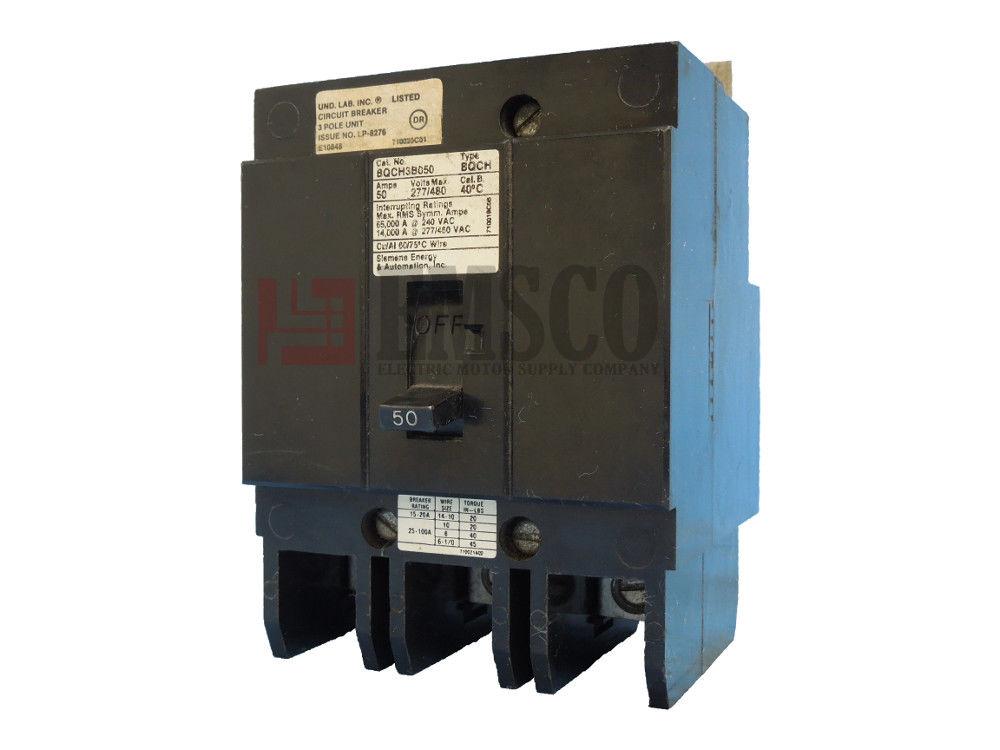 Picture of BQCH3B050 Siemens Circuit Breaker