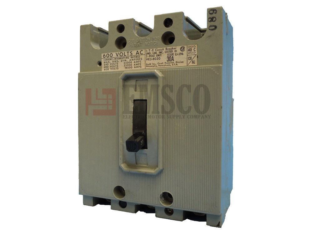 Picture of HE3-B030 ITE Circuit Breaker
