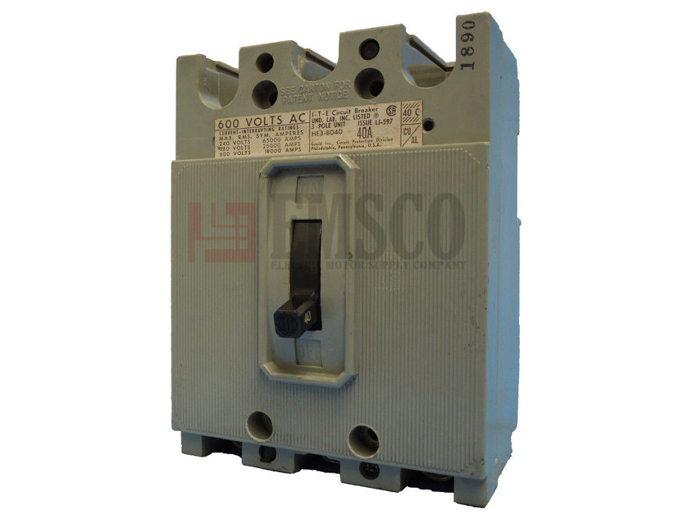 Picture of HE3-B040 ITE Circuit Breaker