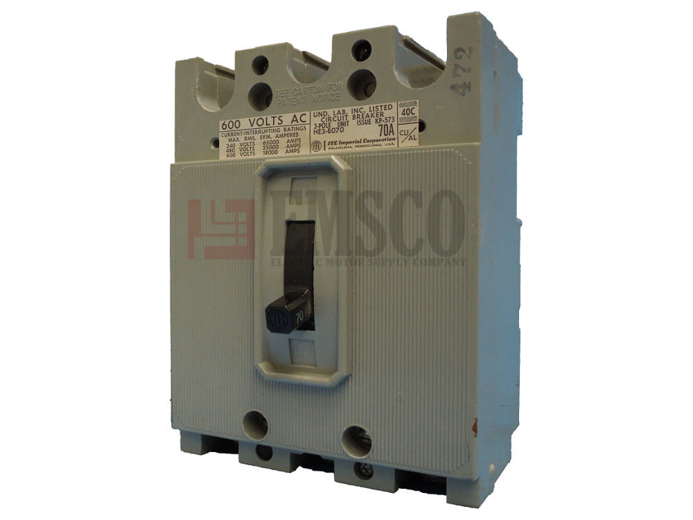 Picture of HE3-B070 ITE Circuit Breaker