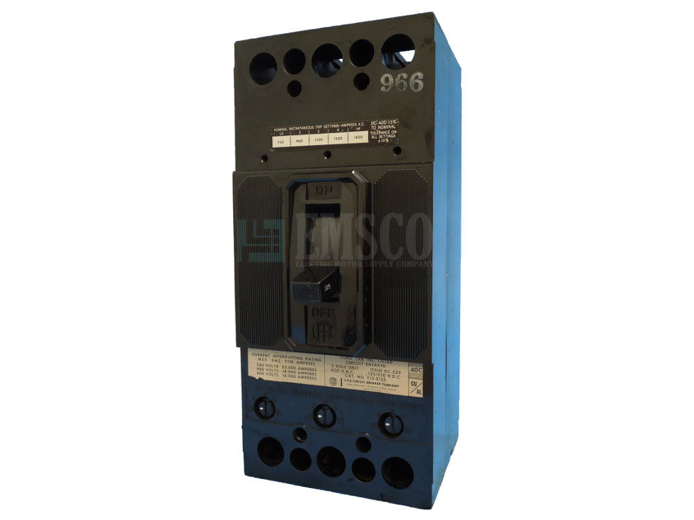 Picture of FJ3-B125 ITE Circuit Breaker