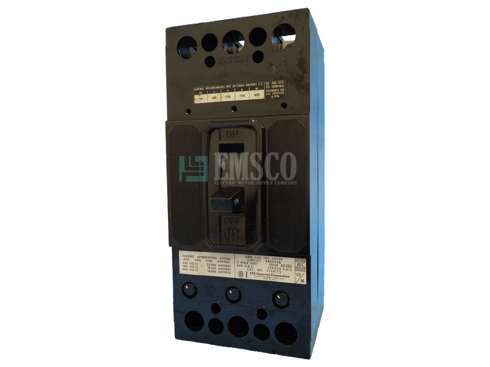 Picture of FJ3-B175 ITE Circuit Breaker