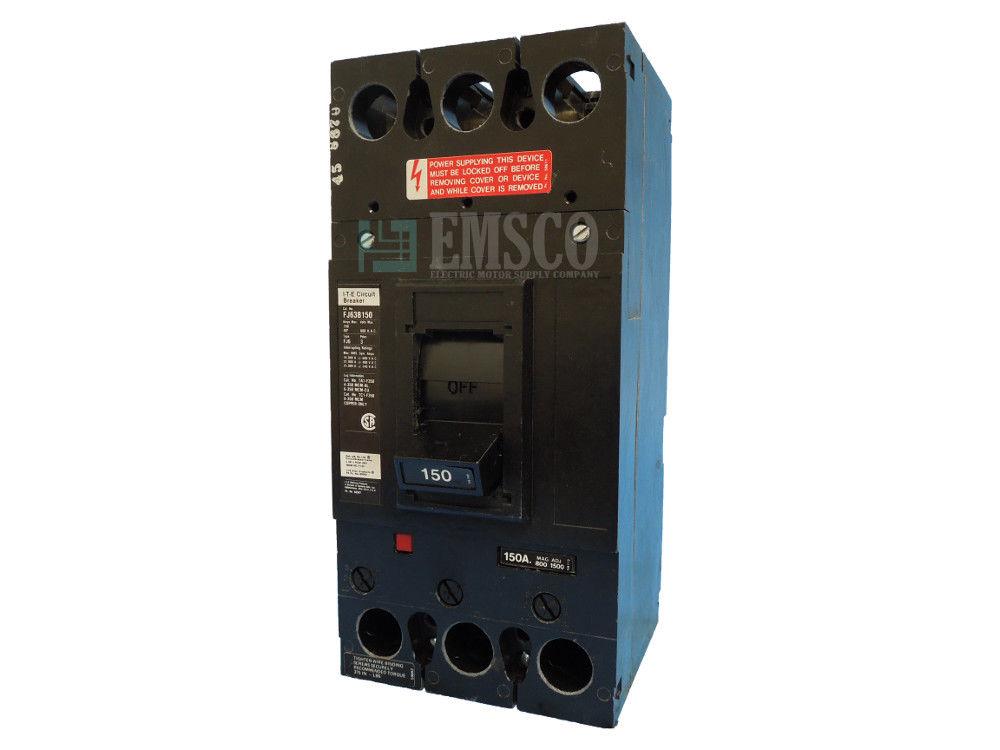 Picture of FJ63B150 ITE Circuit Breaker