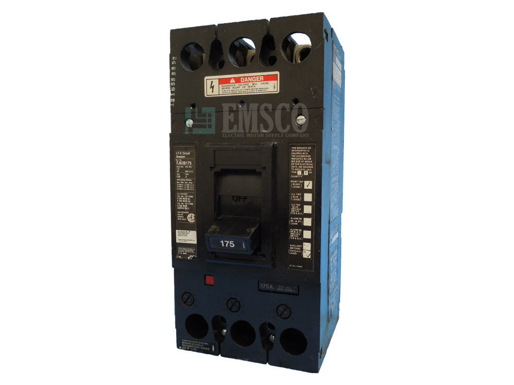 Picture of FJ63B175 ITE Circuit Breaker