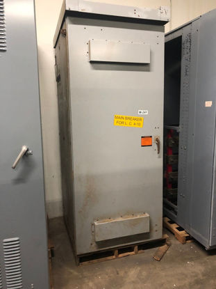 Picture of Siemens Main Breaker, NEMA-3R Enclosure, 3 Phase 3 Wire 480 Volt