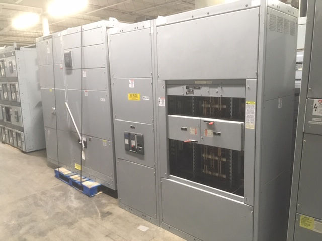 Picture of General Electric Spectra Series 3000 Amp 3 Phase 4 Wire Pringle QA3033-B Main Fusible NEMA 1 (M-242)