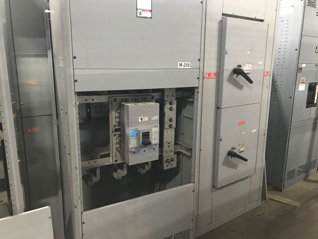 Picture of Siemens RXD63B180 1800 Amp 3 Phase 4 Wire Main Breaker Nema 1 Panel