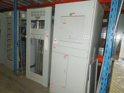 Picture of Challenger FA-1 Switchboard 1200A 208Y/120 Volt 3Ph 4W FDPS368B Fusible Main Panel (M-264)