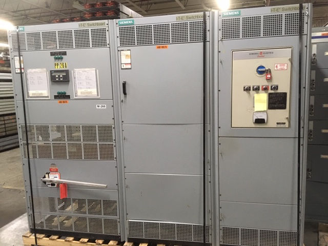 Picture of Siemens FCII Switchboard 4000 Amp 480 Volt 3 Phase Pringle QA-4033-CBC Fusible Main  NEMA 1 (M-266)