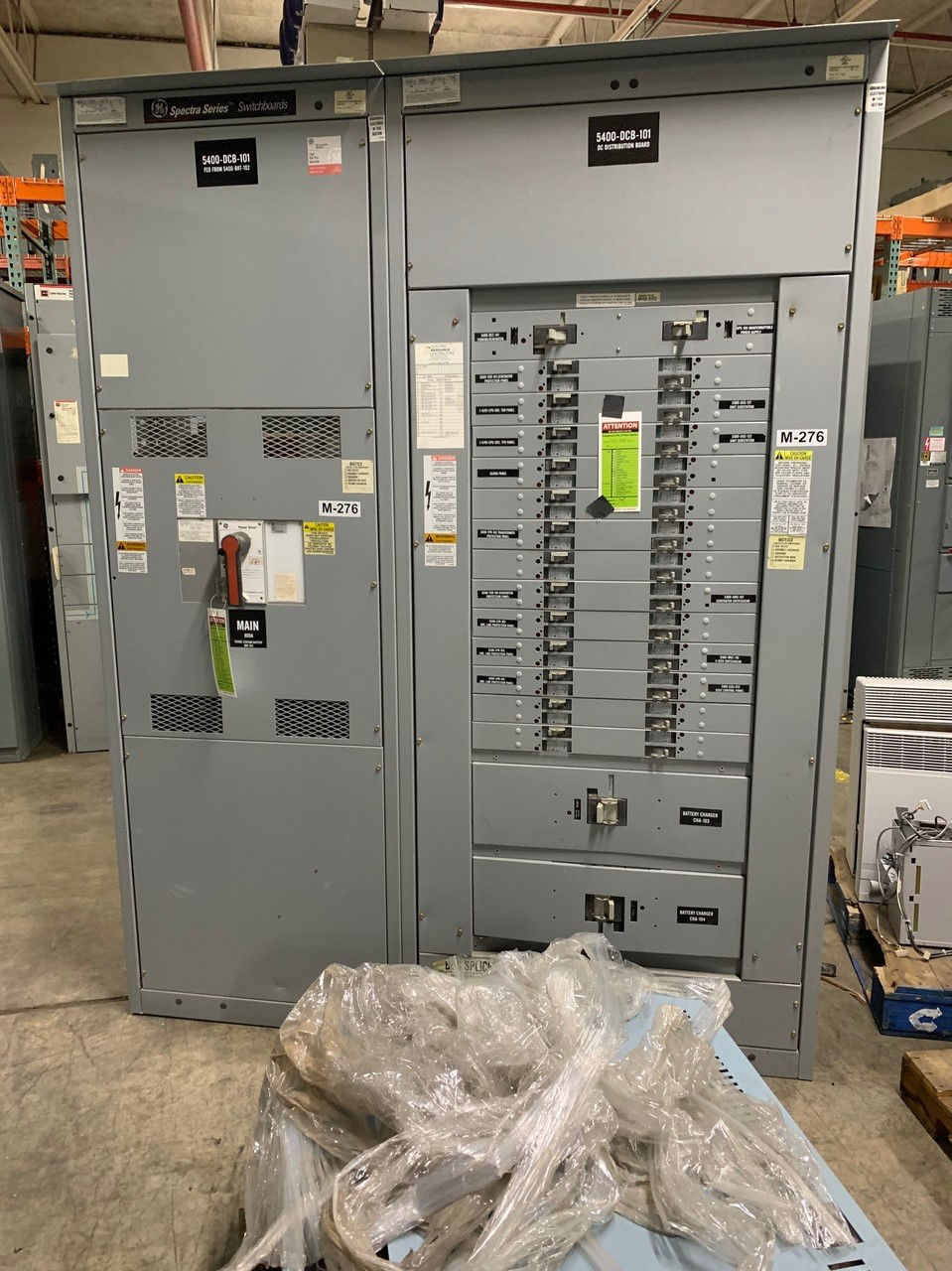 Picture of GE Switchboard Main Breaker Panel 800A 2W 125VDC Nema-1