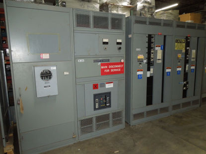 Picture of  Square D QED Power-Style I-line Switchboard 2000A 3Ph 4W 480Y/277V NW20H Main Breaker Panel NEMA 1 R&G