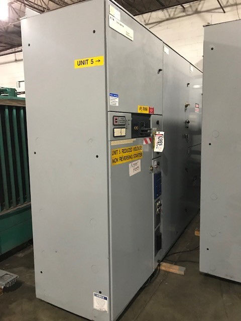 Picture of Cutler-Hammer Ampguard Medium Voltage Reduce Voltage 2400V 1500hp Used