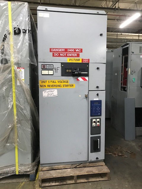 Picture of Cutler-Hammer Ampguard Non-Reversing Medium Voltage Starter 2400V 1500hp Used
