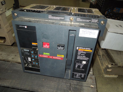 Picture of MP16H1 Merlin Gerin Masterpact Breaker 1600A 3p 600 VAC MO/DO LSIG