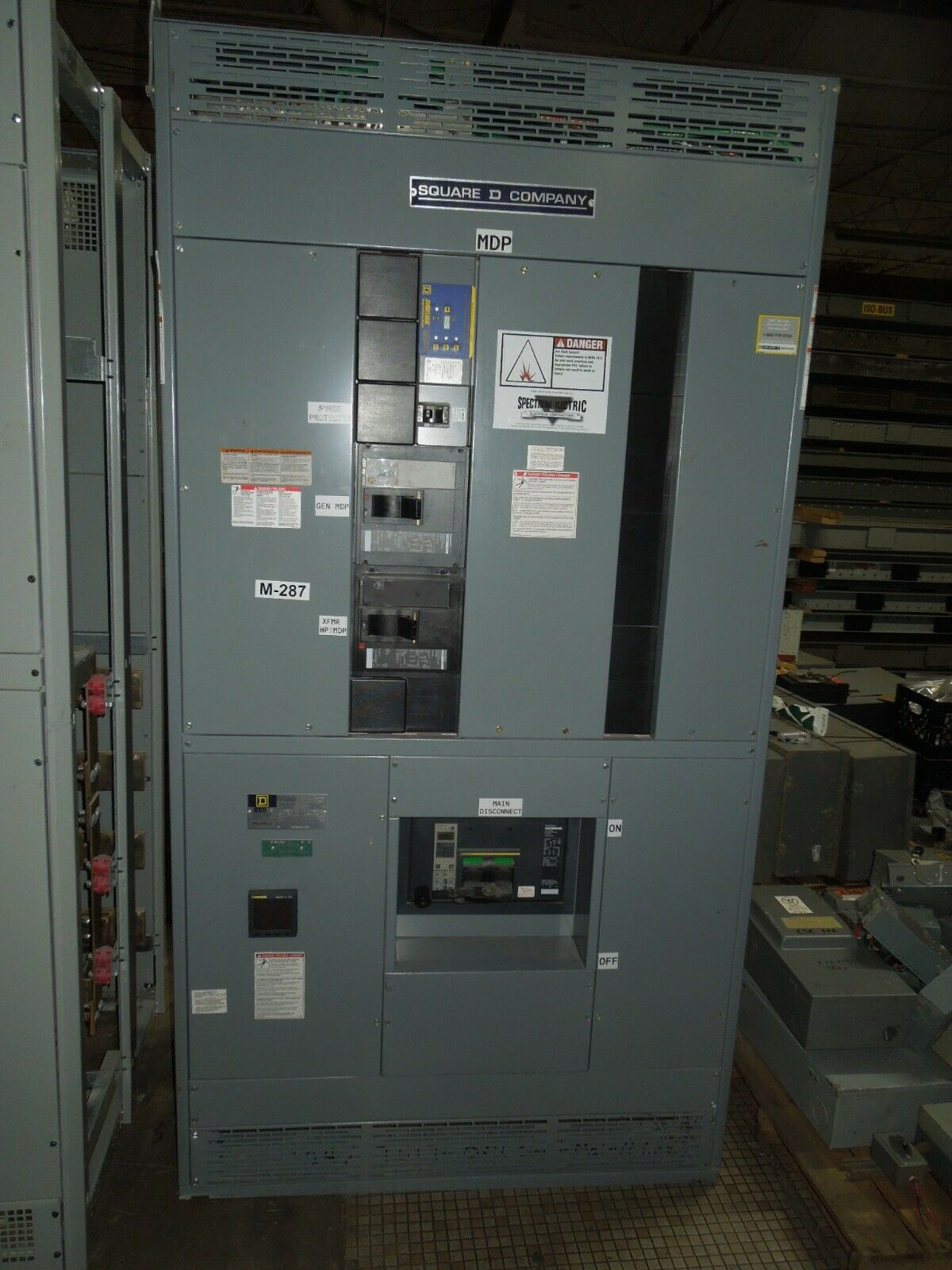 Picture of Square D QED Power Style Switchboard