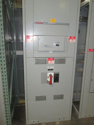Picture of GENERAL ELECTRIC 1600 Amp 3 Phase 4 Wire TP1616S Main Breaker Panel NEMA 1