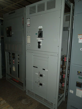 Picture of Siemens SB3 4000A 3ph 480Y/277V NEMA 1 WLL3F340 Main with LSIG & Distribution Used E-OK