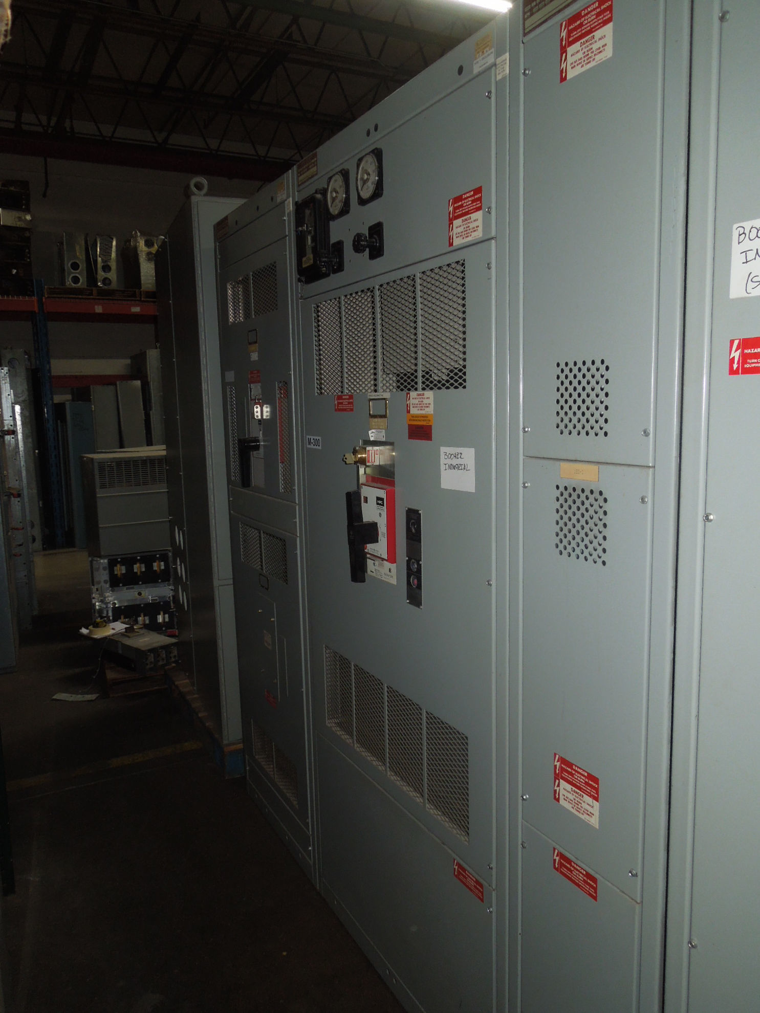 Picture of GE AV-Line Switchboard 4000A 3ph 480Y/277V NEMA 1 Fused HPC Main With Fusible Distribution Used E-OK