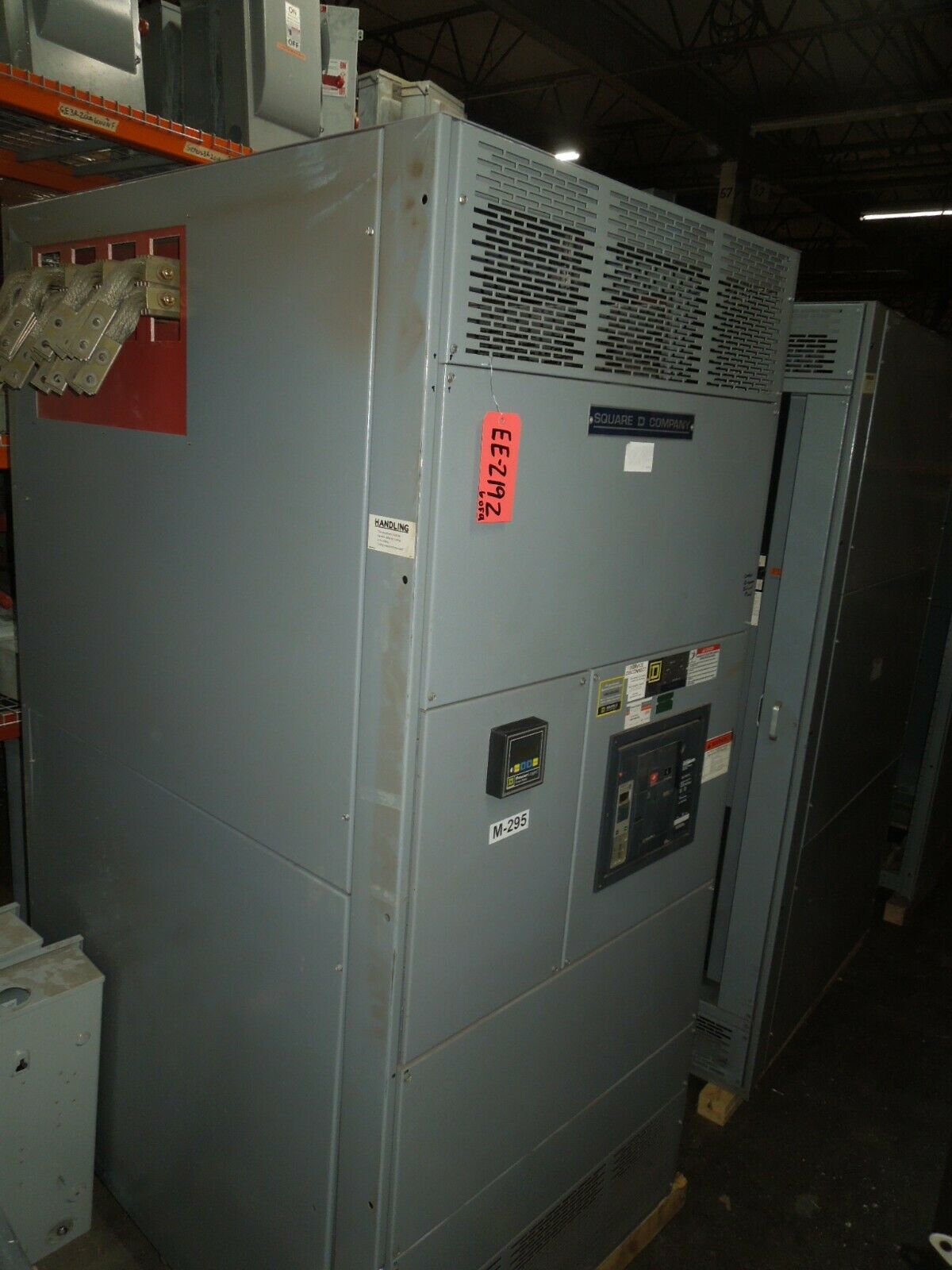Picture of Square D QED Power Style I-Line Switchboard 4000A 3ph 480Y/277V NW40H Main w/ LSIG Used E-OK