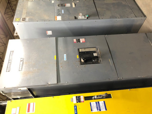 Picture of Square D Model 5 MCC 2000 Amp PHF2036 Main Breaker 480Y/277 Volt