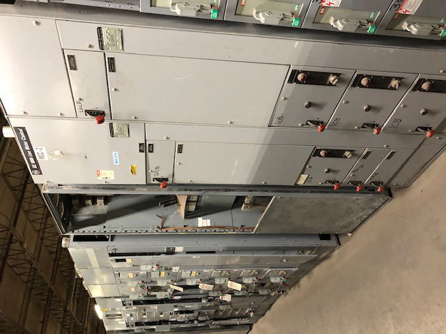 Picture of GE 8000 Line MCC 600A MLO 480Y/277 Volt