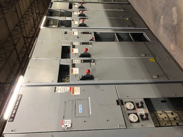 Picture of GE 8000 Series MCC 1600 Amp MLO 480Y/277 Volt