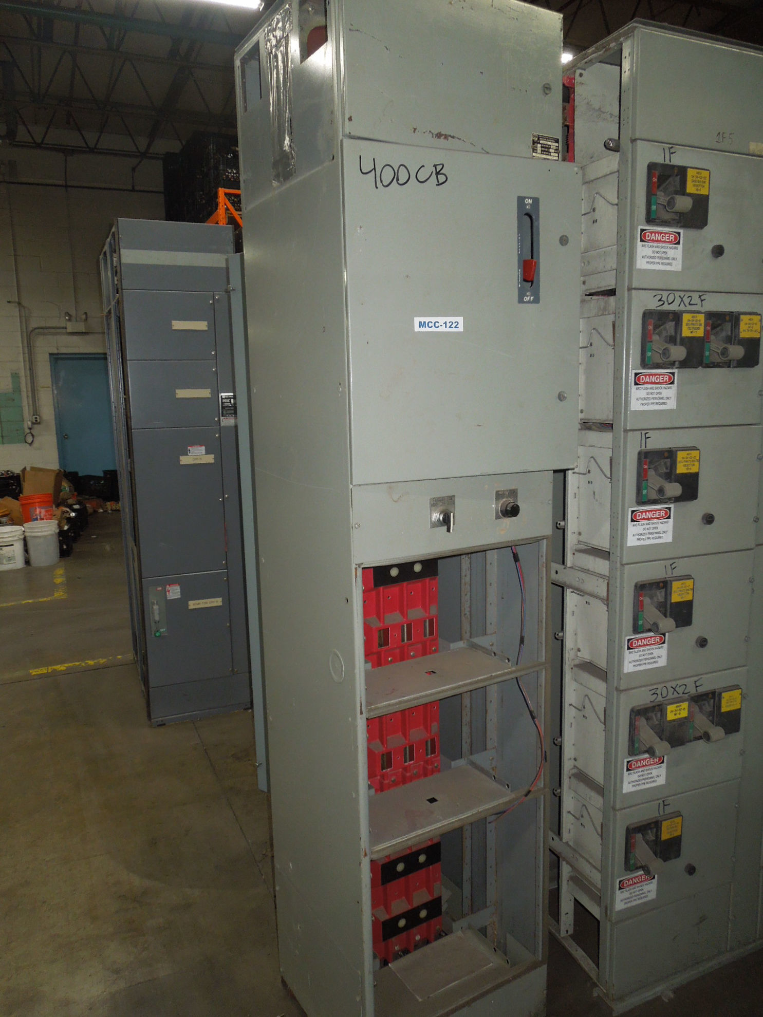 Picture of Furnas Original Class 89 MCC 400 Amp TJK436F000 Main Breaker 480Y/277 Volt