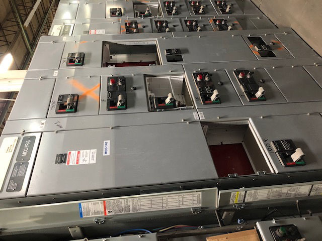 Picture of Cutler-Hammer Freedom 2100 Series MCC 800 Amp MLO 480Y/277 Volt